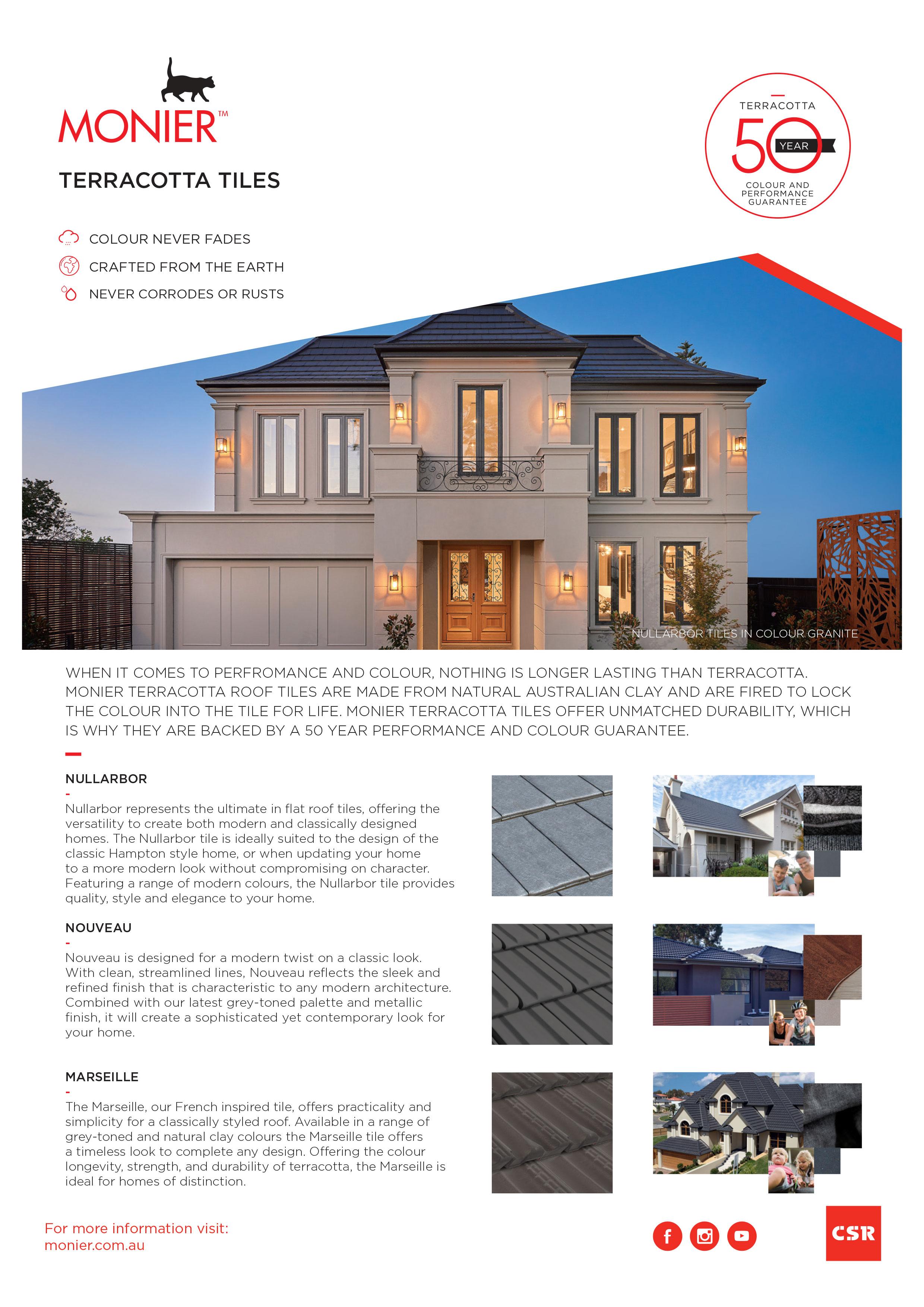 Monier Terracotta Roof Tiles   Raving Roofing, Melbourne